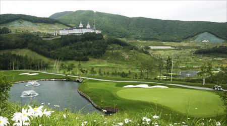 해발 1,137M, 여름에도 시원한 골프장!