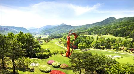 강원도 최대규모! 친환경 베스트 골프장 1위선정!