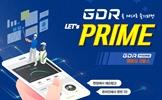GDR PRIME<br>멤버십 서비스 출시!
